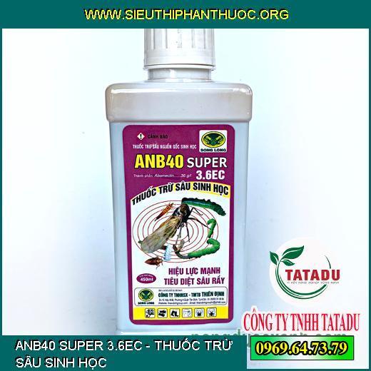 ANB40 SUPER 3.6EC