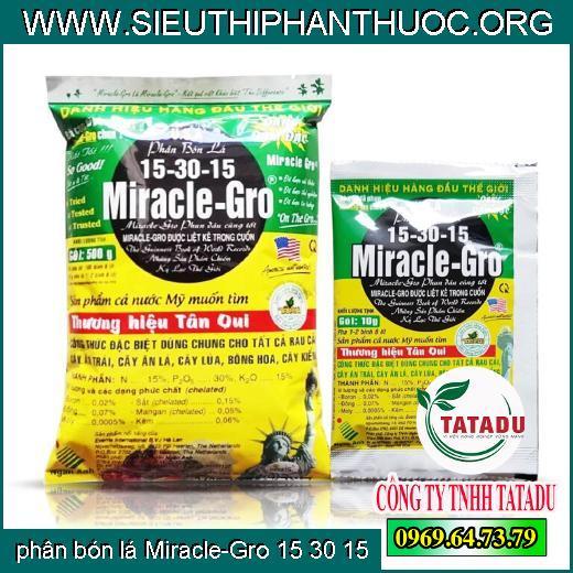phân bón lá Miracle-Gro 15 30 15