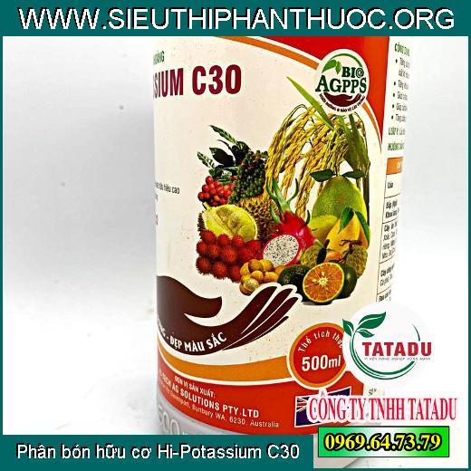 Phân bón hữu cơ Hi-Potassium C30