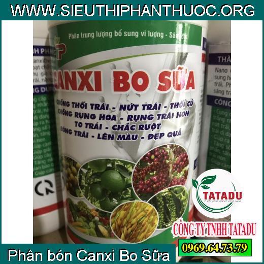 Phân bón Canxi Bo Sữa