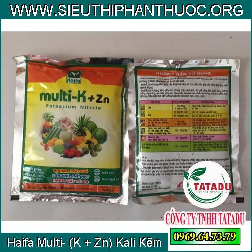 Haifa Multi- (K + Zn) Kali Kẽm