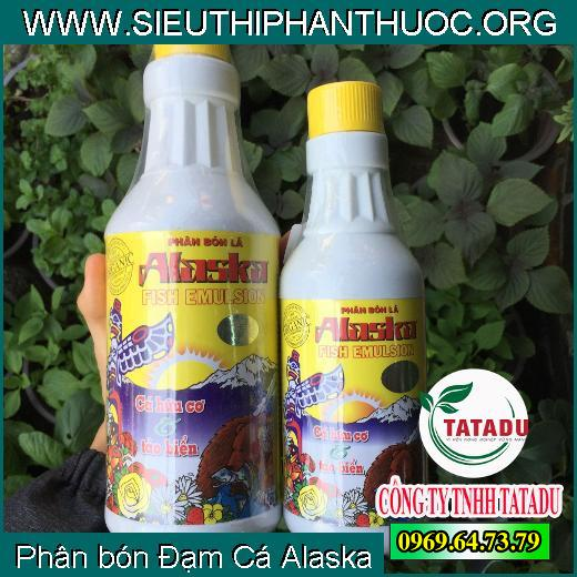 Phân bón Đạm Cá Alaska
