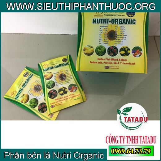 Phân bón lá Nutri Organic