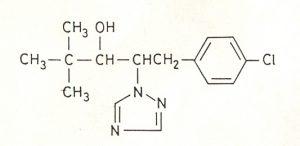 Công thức cấu tạo của Paclobutrazol