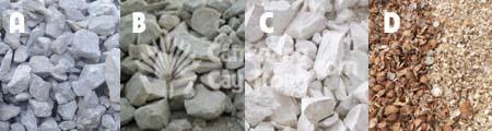 Các nguyên liệu chứa Canxi