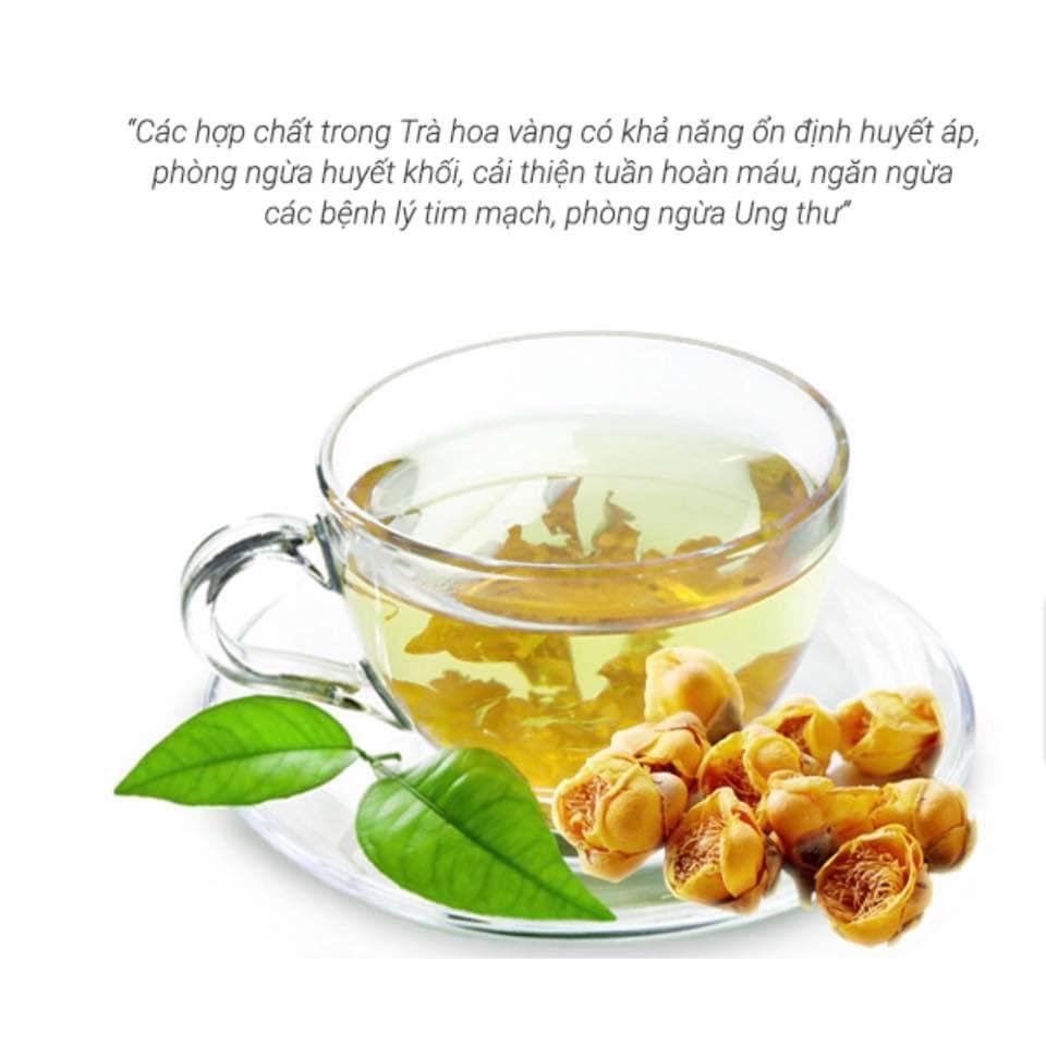 Chụp ảnh sản phẩm Trà Hoa Vàng - Kim Hoa Trà