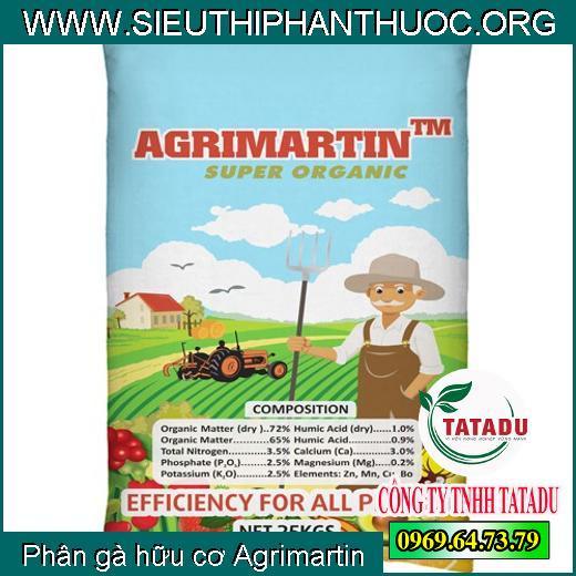 Phân gà hữu cơ Agrimartin