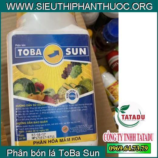Phân bón lá ToBa Sun