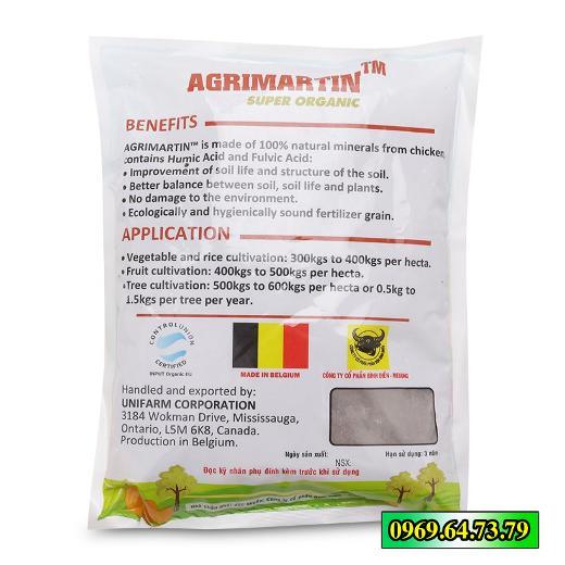 Phân bón lá hữu cơ Agrimartin Super Organic