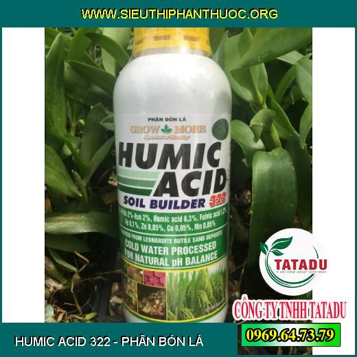 HUMIC ACID 322
