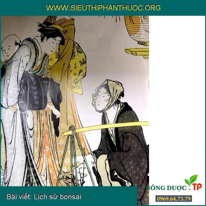 Lịch sử bonsai
