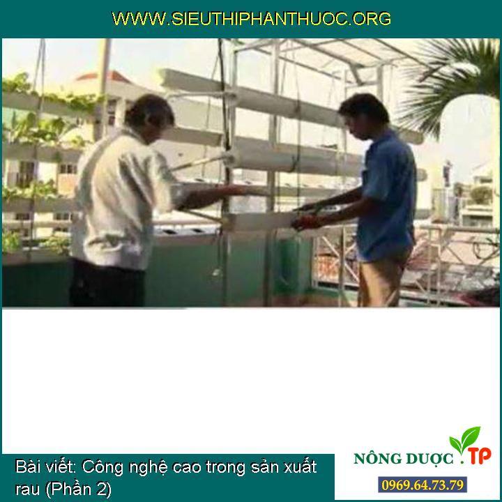 Công nghệ cao trong sản xuất rau (Phần 2)