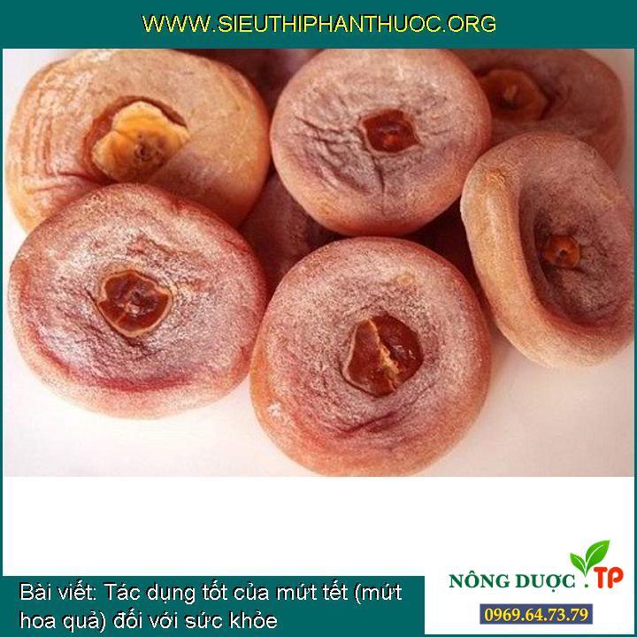 Tác dụng tốt của mứt tết (mứt hoa quả) đối với sức khỏe